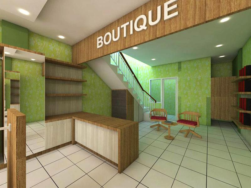 Salon dan Butik